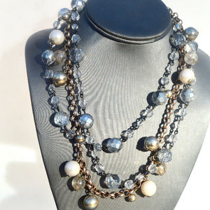 💋3 for $20 Bundle Lot Crystal Chain Necklaces